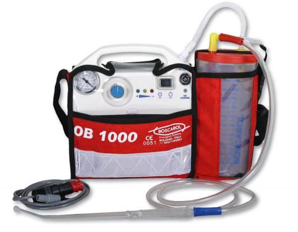 BOSCAROL OB1000 elektrische Absaugpumpe Einzelgerät