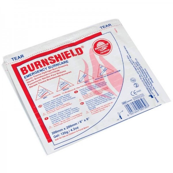 BURNSHIELD sterile Brandwunden Kompresse 20x20 cm