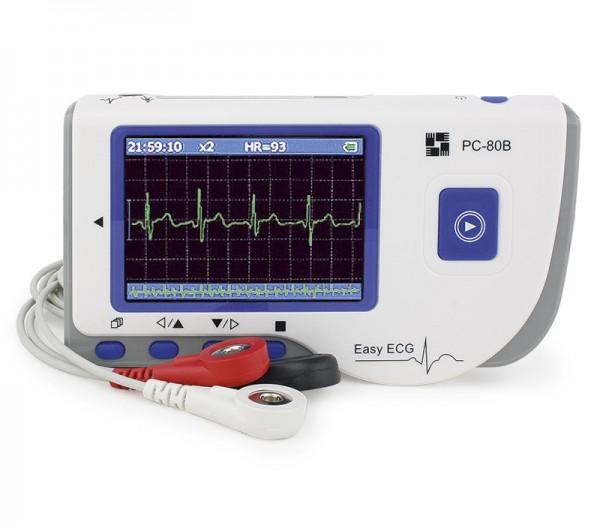PC-80B EKG Gerät inkl. EKG Kabel und Elektroden