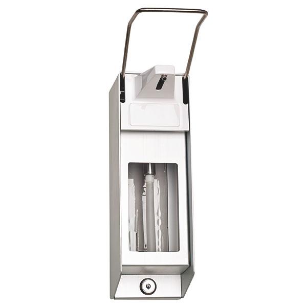 Seifen- und Desinfektionsmittelspender aus Aluminium, 1000 ml