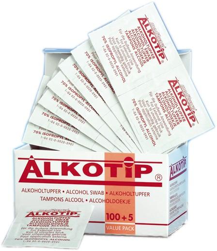 Alkoholtupfer - 105 Stk Packung