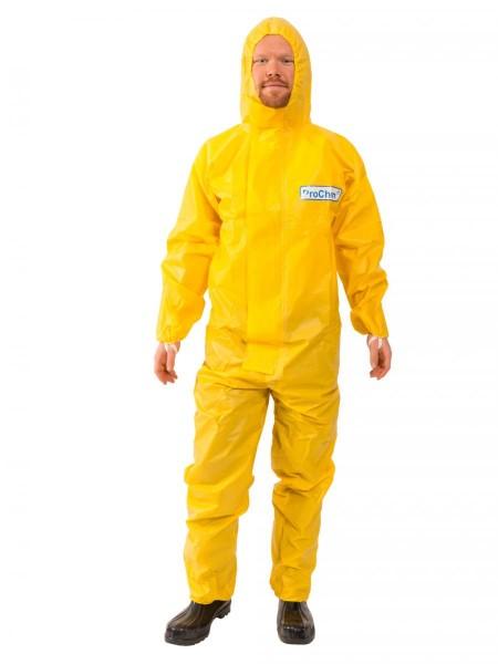 ProChem I CPM E gelb Chemie-Schutzanzug Typ 3B/3/4/5/6