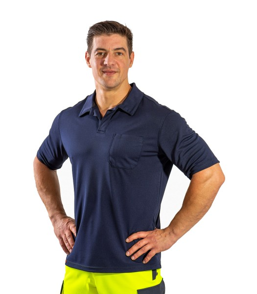 SUTURA Polo-Shirt - marine