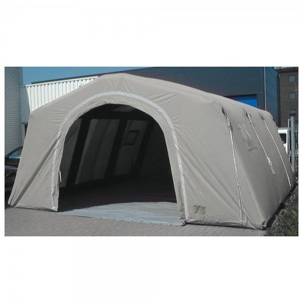 Losberger Airshelter VII, grau - aufblasbares Schnelleinsatz-Zelt