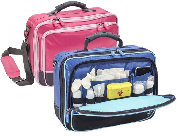 COMMUNITY´S kleine Pflegetasche blau oder pink