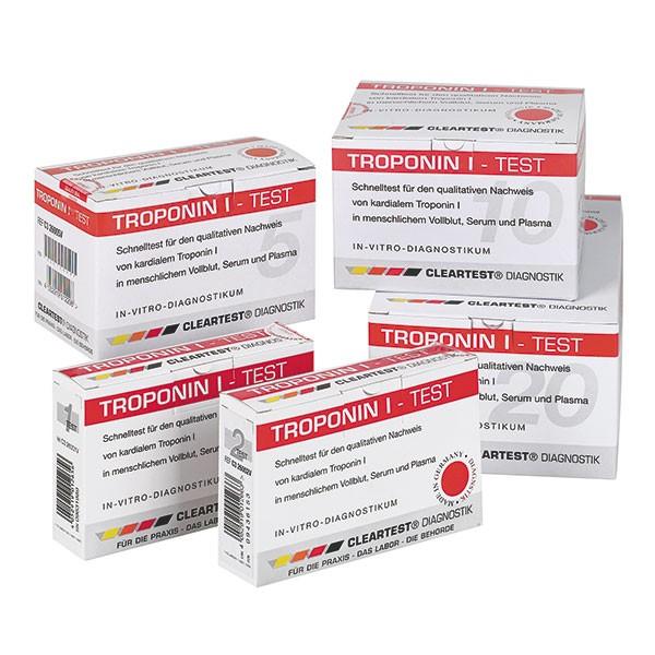 CLEARTEST Troponin I - Schnelltest Myokardinfarkt