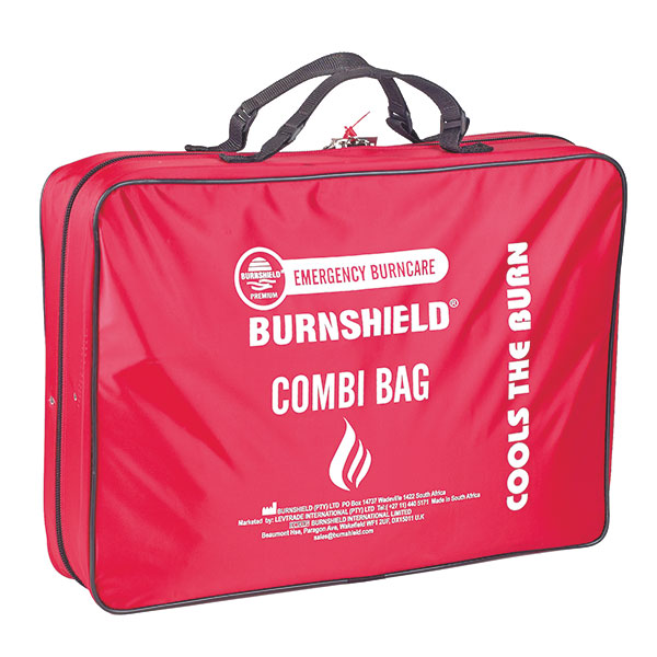 BURNSHIELD Combi Trauma Burnkit in Tragetasche