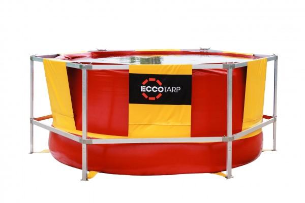 ECCOTARP Großvolumenbehälter mit Gerüst - verschiedene Größen