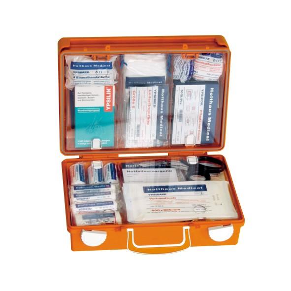 Erste Hilfe Koffer SAN, 31x21x13 cm Füllung DIN 157 erweitert