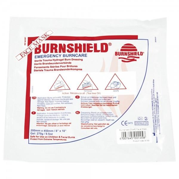 BURNSHIELD sterile Brandwunden Gesichtsmaske 20x45 cm