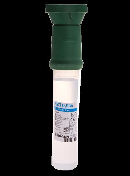 100ml Augenspülflasche, Ecolav, 0,9% Kochsalzlösung, steril