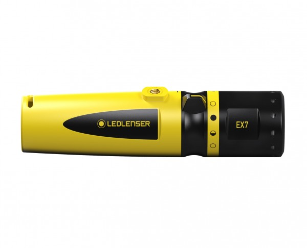 LED LENSER EX7 - ATEX-zertifizierte LED Lampe mit 200 lm