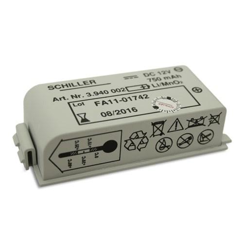 LiMnO2-Batterie für Schiller FRED easyport
