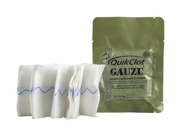 QuikClot Gauze Z-Folded