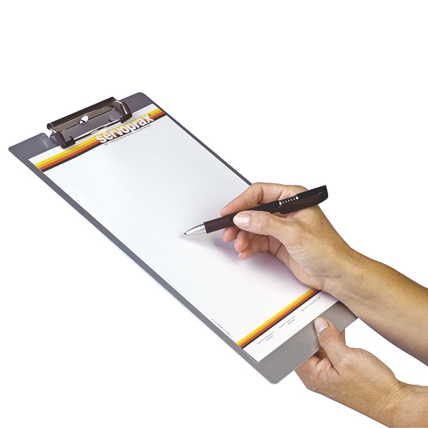 Aluminium Klemmbrett Schreibplatte Clipboard