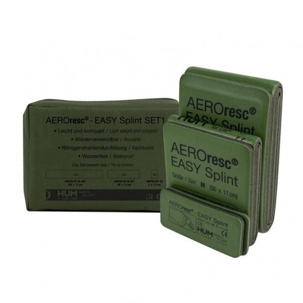 AEROresc® EASYsplint Tactical Splint Set oliv