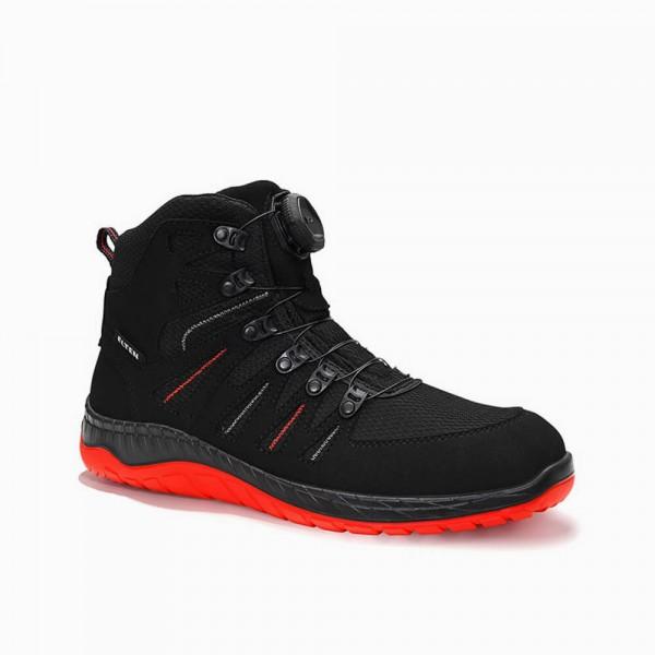 Sicherheitsschuhe S3 Maddox BOA black red Mid ESD S3