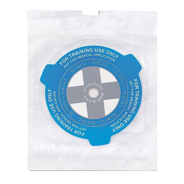 Simu-Seal Übungs-Chest Seal Einzelpackung