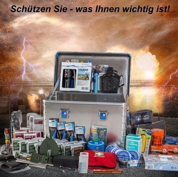 """MBS Zivilschutz Vorsorge- und Notvorrat Zarges Box """"Home"""""""