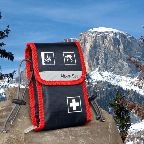 Alpin-Set Verbandtasche gefüllt